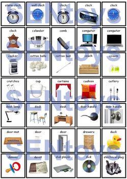 200+ Everyday Objects Photo PECS PDF - Printable ...