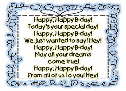Birthday Happy Poems Funny Song Him Son