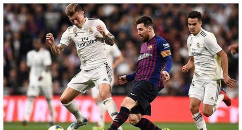 Real Madrid vs Barcelona liga española hoy en VIVO Online ...