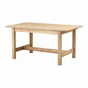 Ikea Table Bois : norden extendable table ikea ~ Teatrodelosmanantiales.com Idées de Décoration