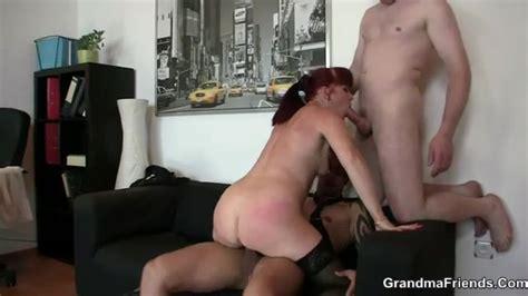 Mature Redhead Hardcore Sex In The Office Mature Porn