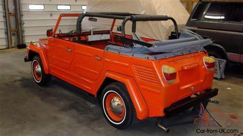 vw kubelwagen for sale 1973 volkswagen thing kubelwagen