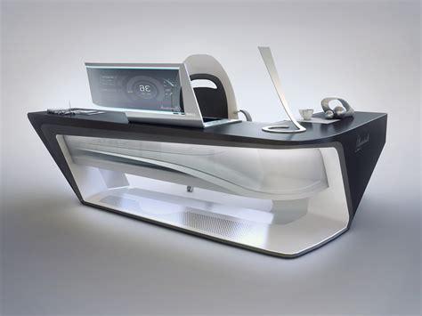 modern desk designs modern desk design by encho enchev sci fi 3d cgsociety
