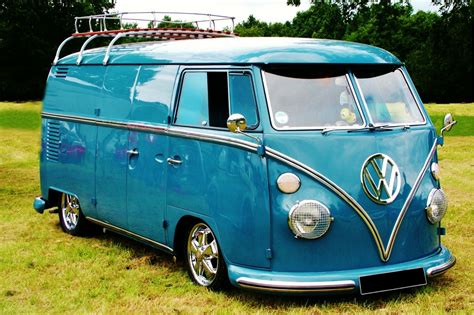 volkswagen minibus free images water sand sky sunshine automobile