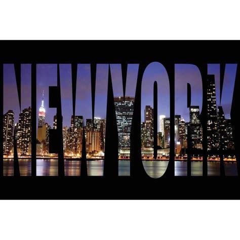 sous york pour bureau york lettres tableau déco sur glass 40x60cm
