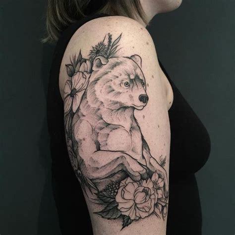 powerful bear tattoo ideas  meaning