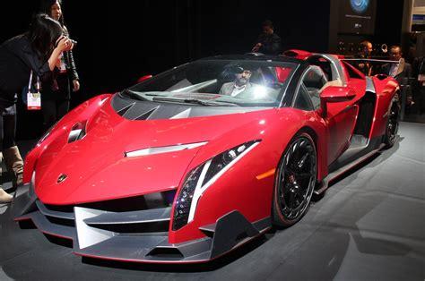 2014 Lamborghini Roadster Supercar Veneno Rosso Red Italan