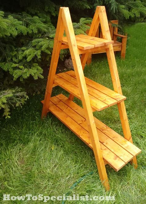frame plant stand plans outdoor furniture plans