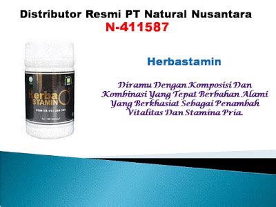 aturan pakai herba stamin produk nasa agen produk nasa