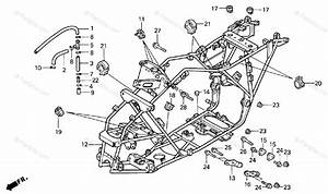 Honda Atv 2000 Oem Parts Diagram For Frame