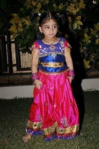 Indian Dresses: Cute Baby in Lovely Skirt | Indian Kids ...