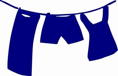 Clothes Clipart Clip Line Clothing Washing Clothesline