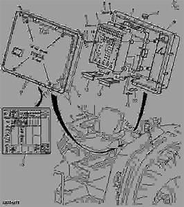 Fuse Box    Symbols - Tractor John Deere 6415