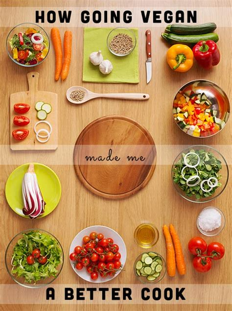 how going vegan made me a better cook