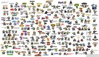 Mario Bros Arcade Cabinet by Mario Characters And Names Mega Man Vs Every Big