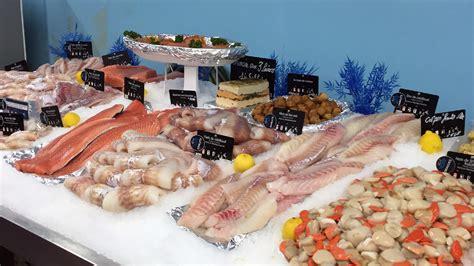 produits de la mer le marche aux poissons fecamp