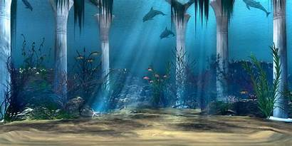 Underwater Background 3d Water Under Backgrounds Wallpapers