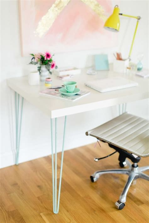ikea desk legs hack 15 ikea hacks colorful and chic diy ideas
