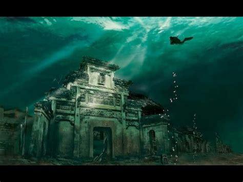 asombrosas ciudades sumergidas en el mar youtube