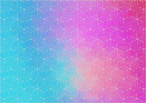 Horizontal Abstract Gradient Color Pattern Texture For