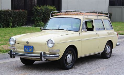 California Original, 1971 Vw Type 3 Sqaureback,100% Rust