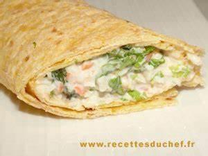 Recette Avec Tortillas Wraps : tortillas au surimi ~ Melissatoandfro.com Idées de Décoration