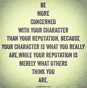 Character Quotes - Quotation Inspiration