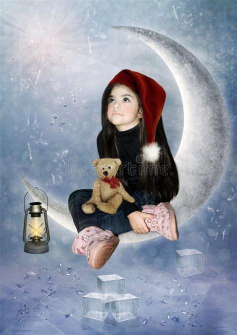 Fairy taleThe Moon Stock Photo Image of allow