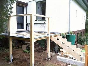 42 besten hochterrasse bauen bilder auf pinterest balkon With französischer balkon mit garten location berlin