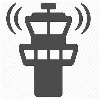 Tower Control Icon Atc Clipart Airport Traffic
