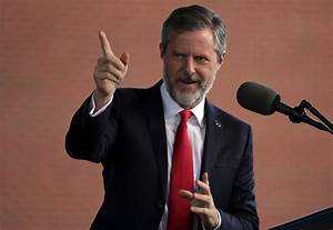 Jerry Falwell Photos - Donald Trump Delivers Commencement ...