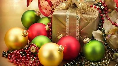 Christmas Ornaments Wallpapers Background Merry Desktop Playitas