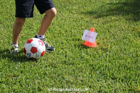 sports themed learning how wee learn 724 | Preschool sports theme sight word soccer activity