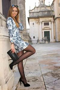 Sexy pantyhose girls...just to cute. | outfit | Pinterest | Exotic Floral and Printing
