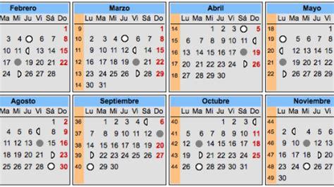 calendario lunar del embarazo calendarios del embarazo