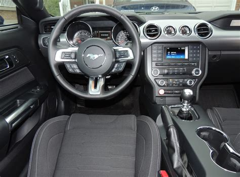 2015 ford mustang interior 2015 ford mustang ecoboost review wheels ca