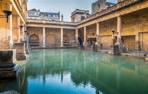 Bath Spa by Great Bath The Baths