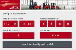 Linde Fork Lift Truck Spare Parts And Repair 2012 Full