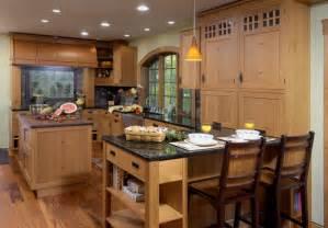Peninsula Island Kitchen Rustic Kitchens Kitchens
