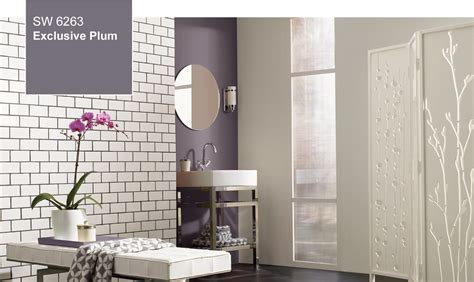 Bathroom Colors 2014 by Sherwin Williams 2014 Color Of The Year Exclusive Plum