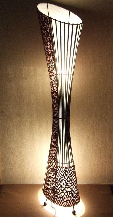 ladaire asiatique bamboo la22 11 le design le sur pied le du sol le 224