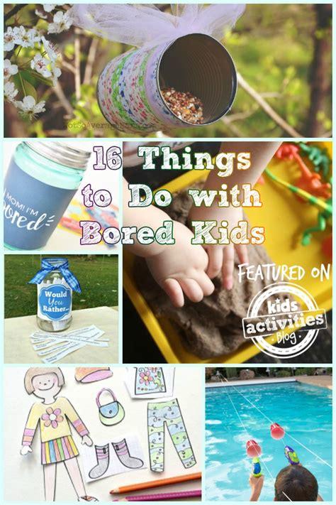 bored kids crafts  activities