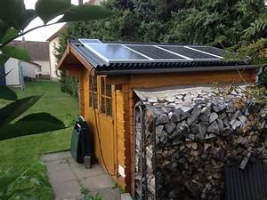 Heizung Für Gartenhaus : solar gartenhaus kleine solaranlagen auf dem schr gdach ~ Lizthompson.info Haus und Dekorationen