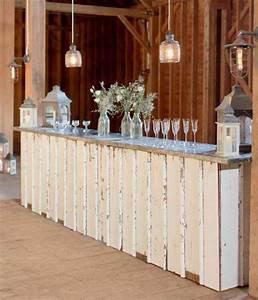 vintage wedding furniture rentals by revolve junebug With rustic wedding decor rentals