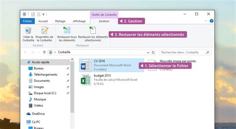 supprimer icone bureau corbeille windows cours informatique gratuit xyoos