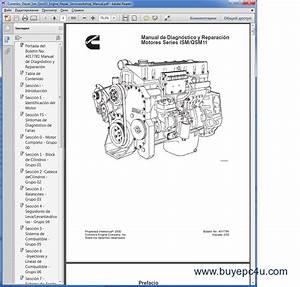 Cummins Ism    Qsm11 Series Engines