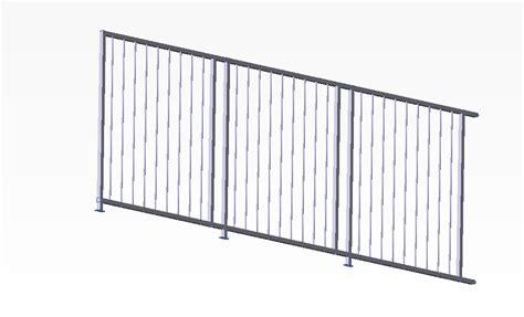 ringhiera modulare a121 2 styleinox