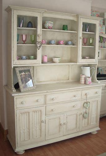 kitchen cabinets pine shabby chic kitchen dresser painted in white shabby 3170