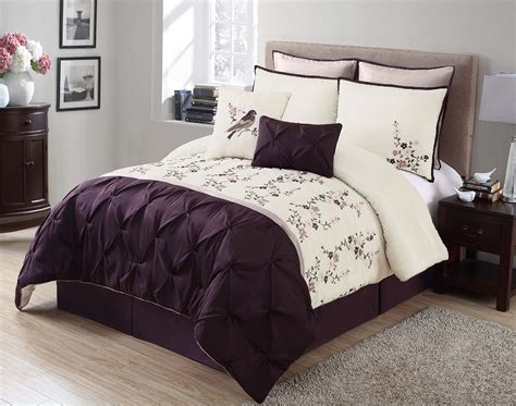 purple comforter sets purple black and white bedding sets drama uplifted