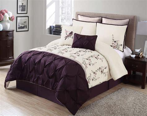 purple comforter set purple black and white bedding sets drama uplifted